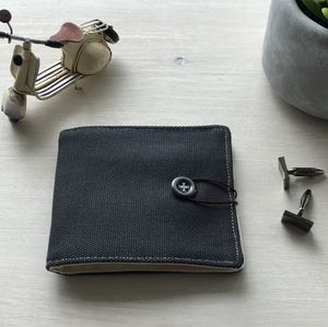 Personalised Cufflink Wallet - men's accessories