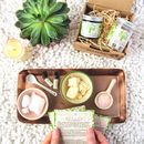 Make Your Own Foot Scrub And Foot Moisturiser Kit