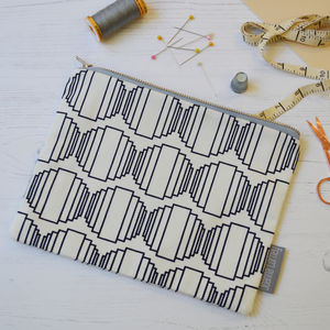 Ellipse Fabric Pouch
