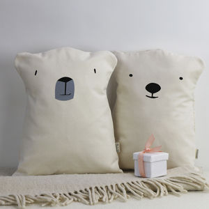 Polar Bear Cushions Set - christmas cushions