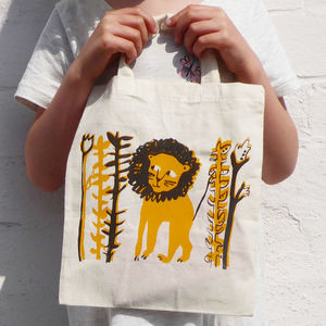Children's Lion Tote Bag - bags, purses & wallets