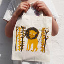 Children's Lion Tote Bag