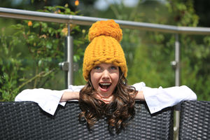Handmade Chunky Knitted Beanie Hat - whats new