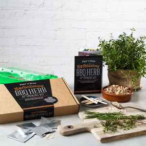 Bbq Herb And Smoking Kit - pots & planters