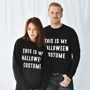 'Halloween Costume' Halloween Unisex Sweatshirt Jumper - men's fashion