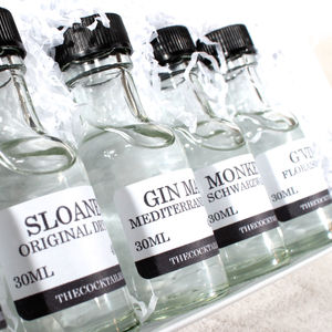 Three Month World Gin Tasting Subscription - gin