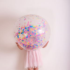 Jumbo Confetti Balloon In A Range Of Colours - decoration