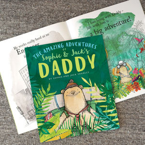 Personalised Adventures Of Book - gifts for him
