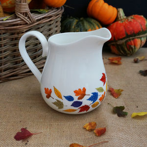 'Falling Leaves' Large Jug