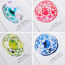 Personalised Paper Cut Birthstone Print