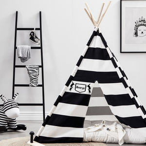 Personalised Black And White Teepee - our top new picks