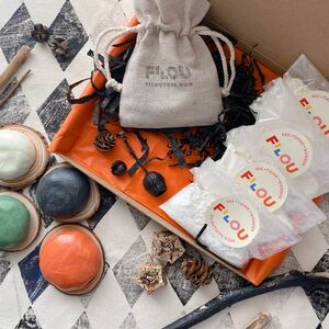 Halloween Playdough Making Kit And Loose Parts Play
