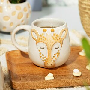 Giraffe Face Or Lion Face Mug