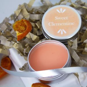 Organic Sweet Clementine Lip Balm - new in health & beauty