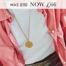 Fearne X Carrie 'I Am Enough' Aztec Coin Necklace
