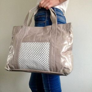 Porter Leather Tote Bag