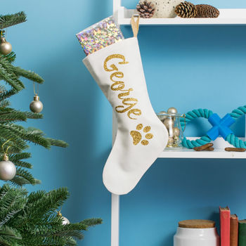 Personalised Pet Christmas Stocking