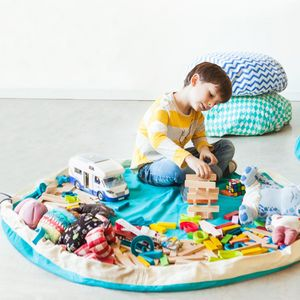 Play And Go Storage And Playmat In One - bedroom