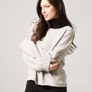 Merino And Cashmere Jumper - keeping cosy