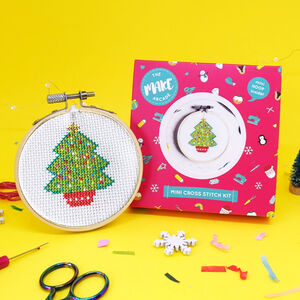 Christmas Tree Cross Stitch Craft Kit