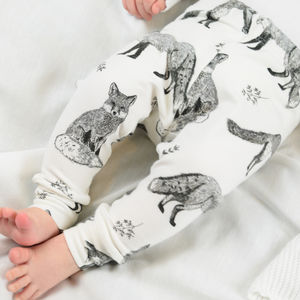 Fox Unisex Baby Toddler Leggings - gifts for babies