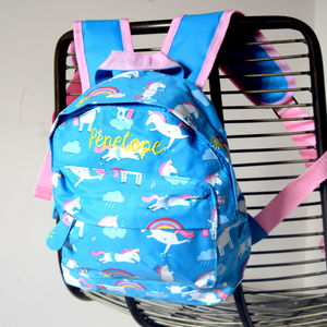 Personalised Kids Unicorn Backpack - gifts for babies & children