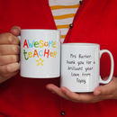 Awesome Teacher Personalised Mug
