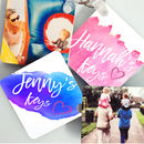 Personalised Watercolour Style Name Keyring