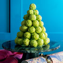 Chocolate Brussels Sprout Centrepiece