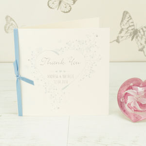 10 Personalised Ella Thank You Cards