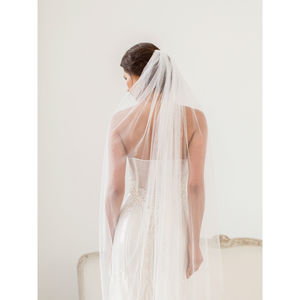 Crystal Scatter Wedding Veil - veils