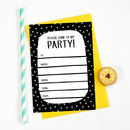 'Party Animal' Party Invitations
