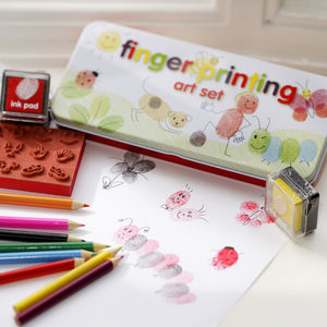 Finger Printing Art Set - for over 5's
