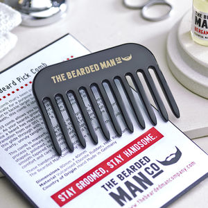003 – The Bearded Man Company Gents Beard Pick Comb - hair care