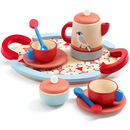 Wooden Toy Bird Tea Set