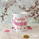 Personalised Contemporary 'Mummy To Be' Mug