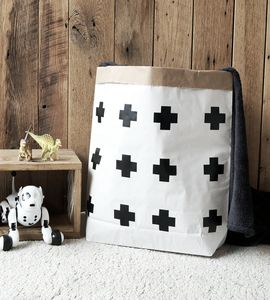 Skandinavian Cross Paper Storage Bag - storage bags