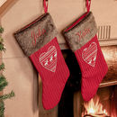 Set Of Two Personalised Nordic Christmas Stockings