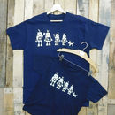 Personalised Family Robot T Shirt