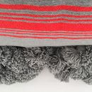 Hand Loomed Moroccan Stripe Rug/ Throw