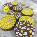 Gift Box Of Easter Chick Chocolates