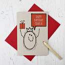 Personalised Character Birthday Card