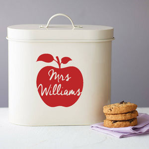 Personalised Teacher Storage Tin - tins