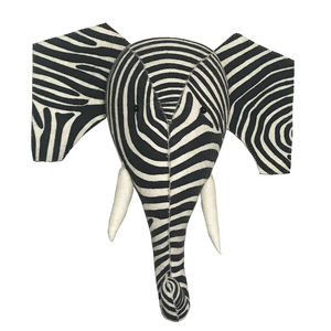 Striking 'Zelephant' Felt Decoration - new in home