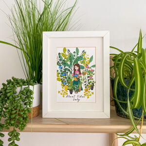 Plant Vibes Only Print