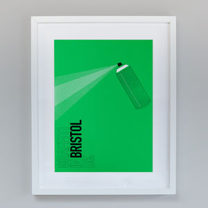 Destination Bristol | Hand Screen Print