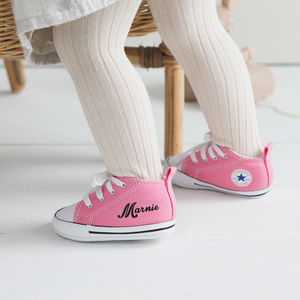 Baby Converse Sneakers Personalised - gifts for babies