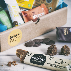 Seven Healthy Assorted Artisan Snacks - food & drink sale