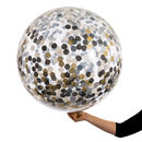 Giant Glitz And Glam Nye Confetti Filled Balloon