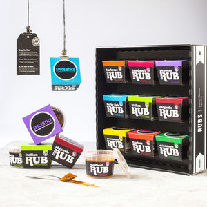 Spice Rub Selection Box - picnic & bbq essentials
